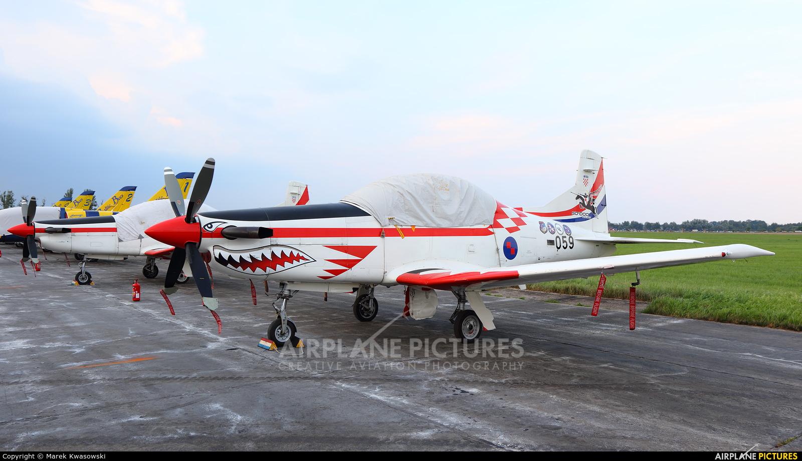 Croatia - Air Force 059 aircraft at Radom - Sadków