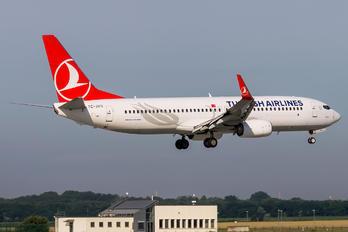 TC-JVO - Turkish Airlines Boeing 737-800