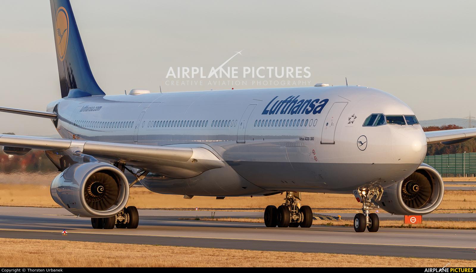 Lufthansa D-AIKR aircraft at Frankfurt