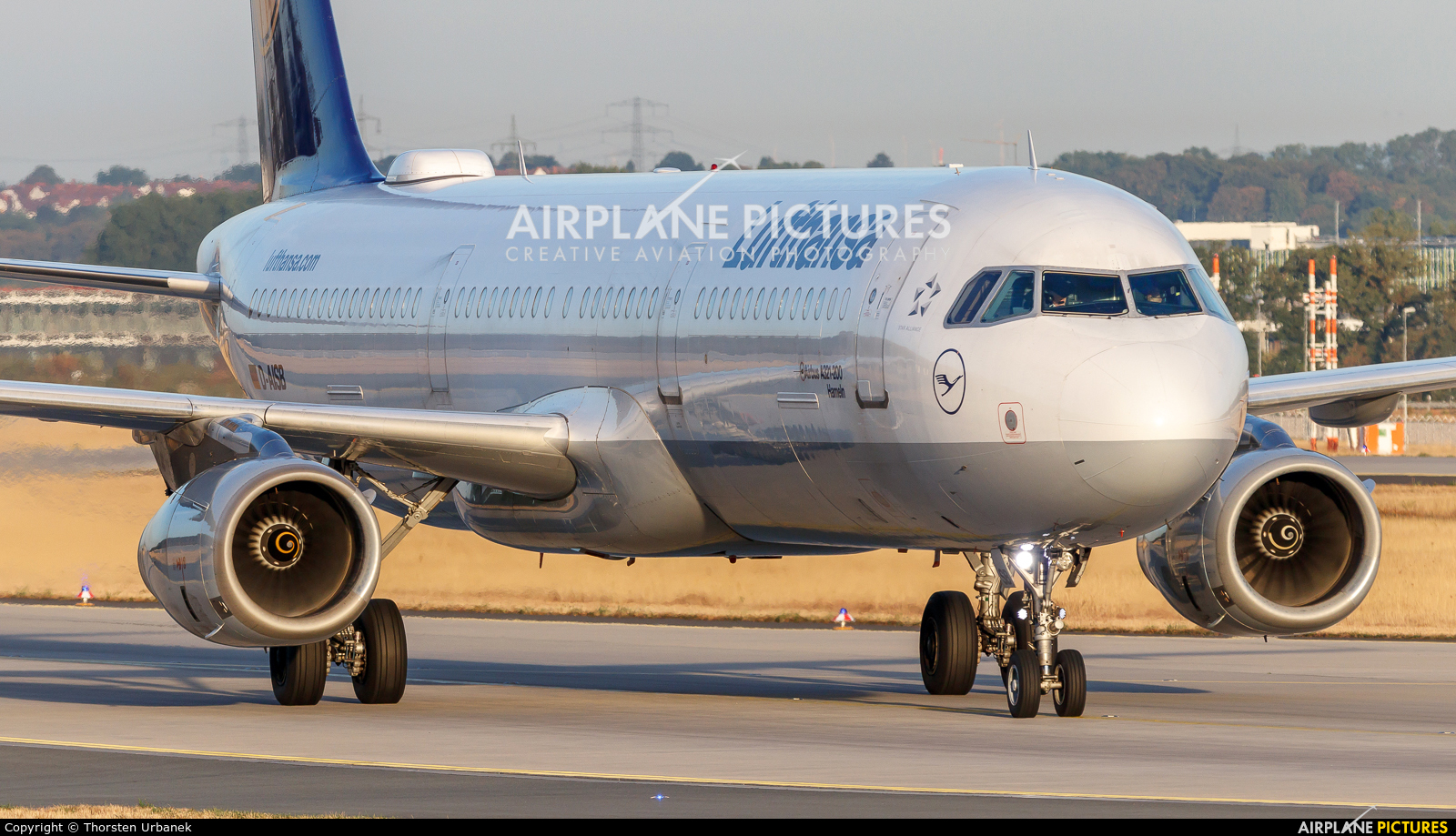 Lufthansa D-AISB aircraft at Frankfurt