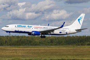 YR-BMH - Blue Air Boeing 737-8K2