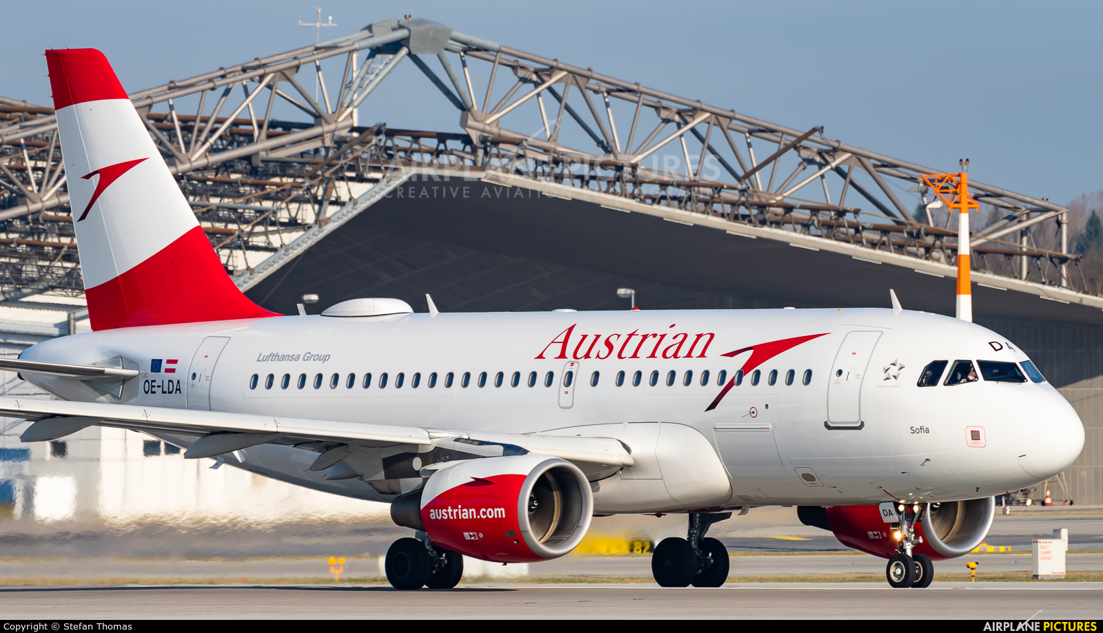 Austrian Airlines/Arrows/Tyrolean OE-LDA aircraft at Munich