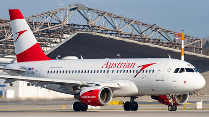 OE-LDA - Austrian Airlines/Arrows/Tyrolean Airbus A319