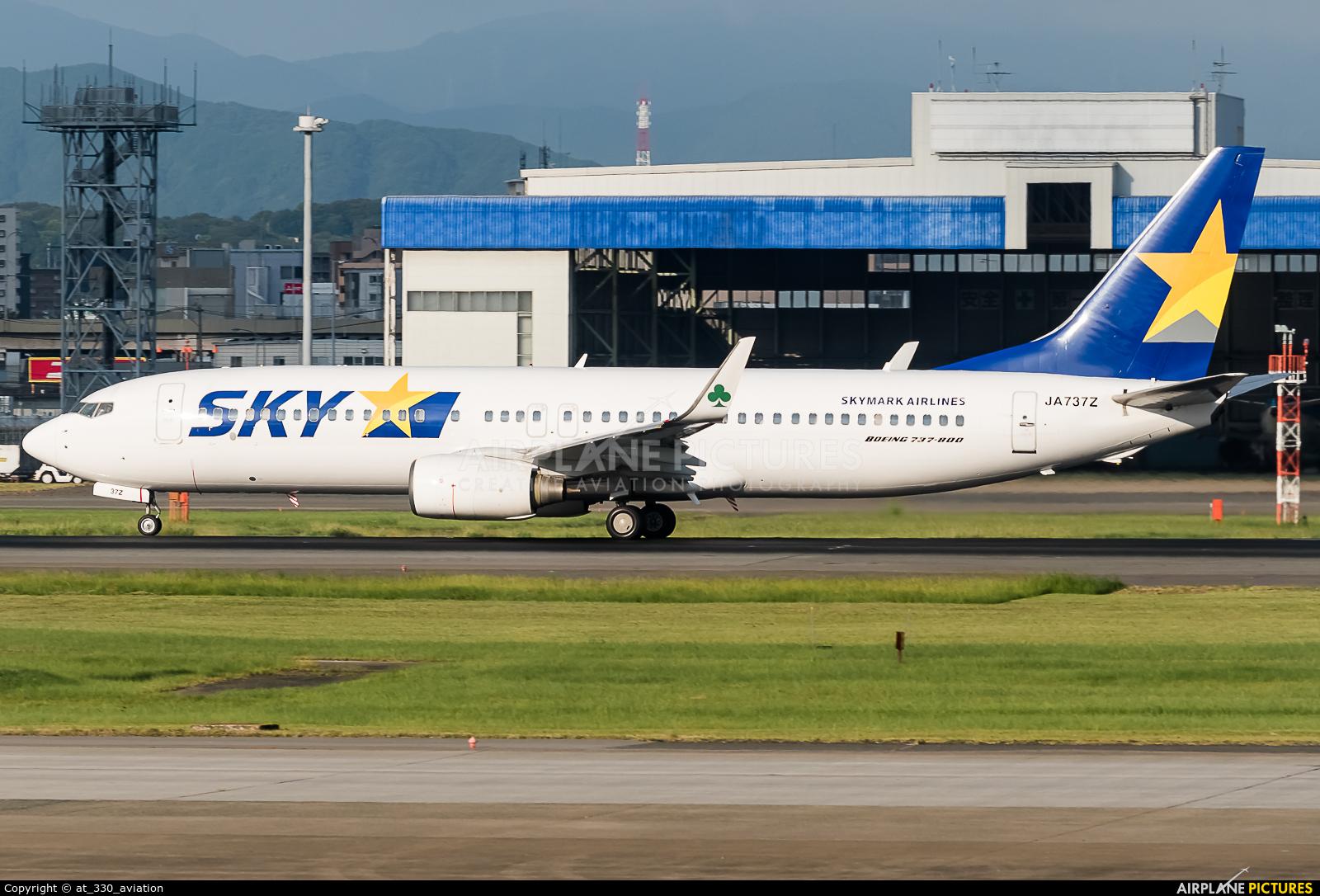 Skymark Airlines JA737Z aircraft at Fukuoka
