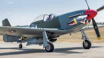 G-SHWN - Private North American P-51D Mustang