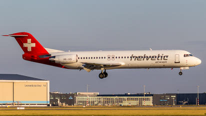 HB-JVG - Helvetic Airways Fokker 100