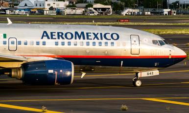 N842AM - Aeromexico Boeing 737-700