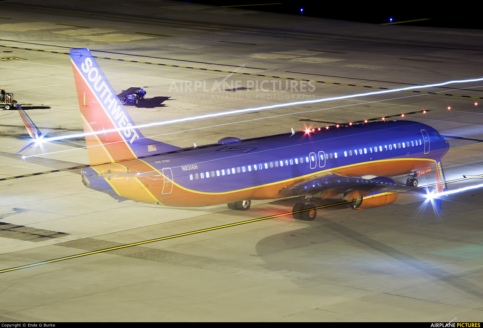 Southwest Airlines N8316H aircraft at Phoenix - Sky Harbor Intl