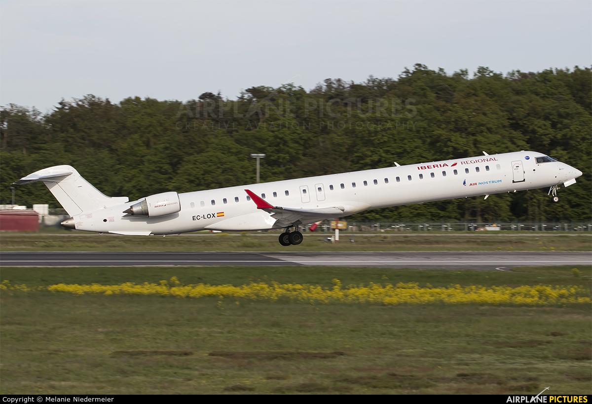 Air Nostrum - Iberia Regional EC-LOX aircraft at Frankfurt