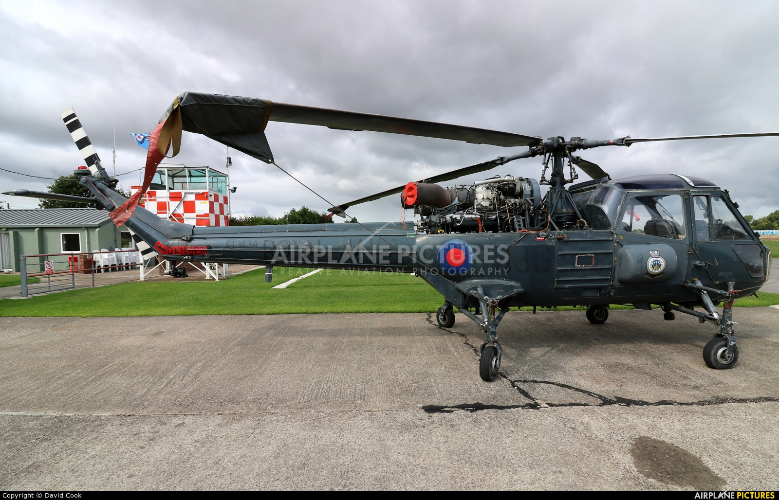 Royal Navy XT434 aircraft at Breighton