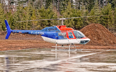 C-GYQH - 49 North Helicopters Bell 206B Jetranger