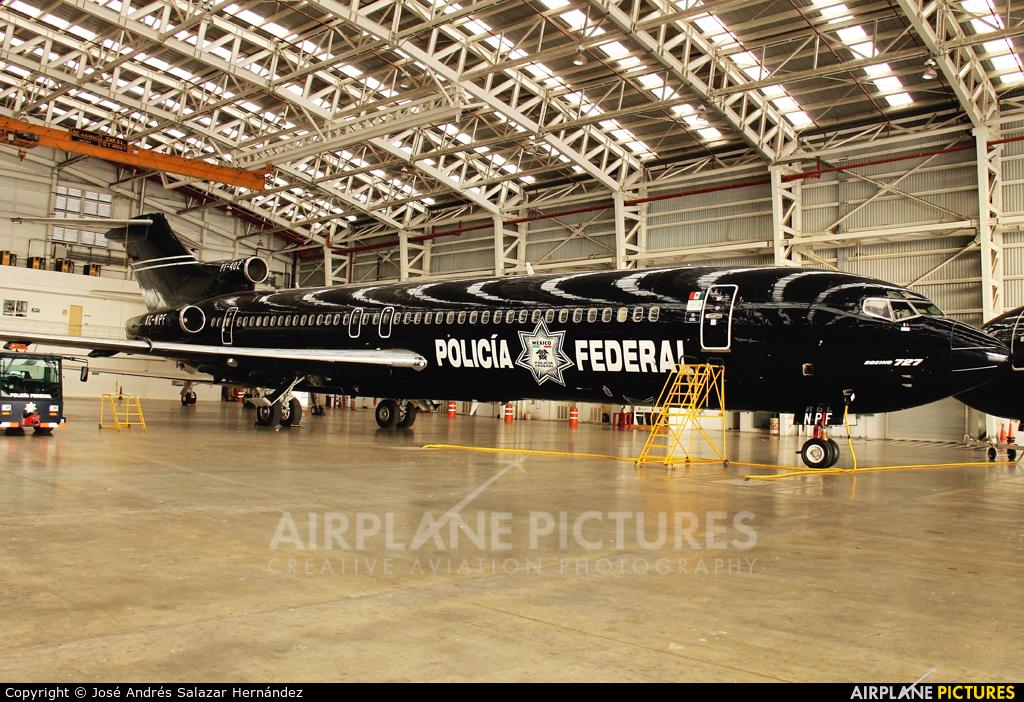 Mexico - Police XC-NPF aircraft at Mexico City - Licenciado Benito Juarez Intl