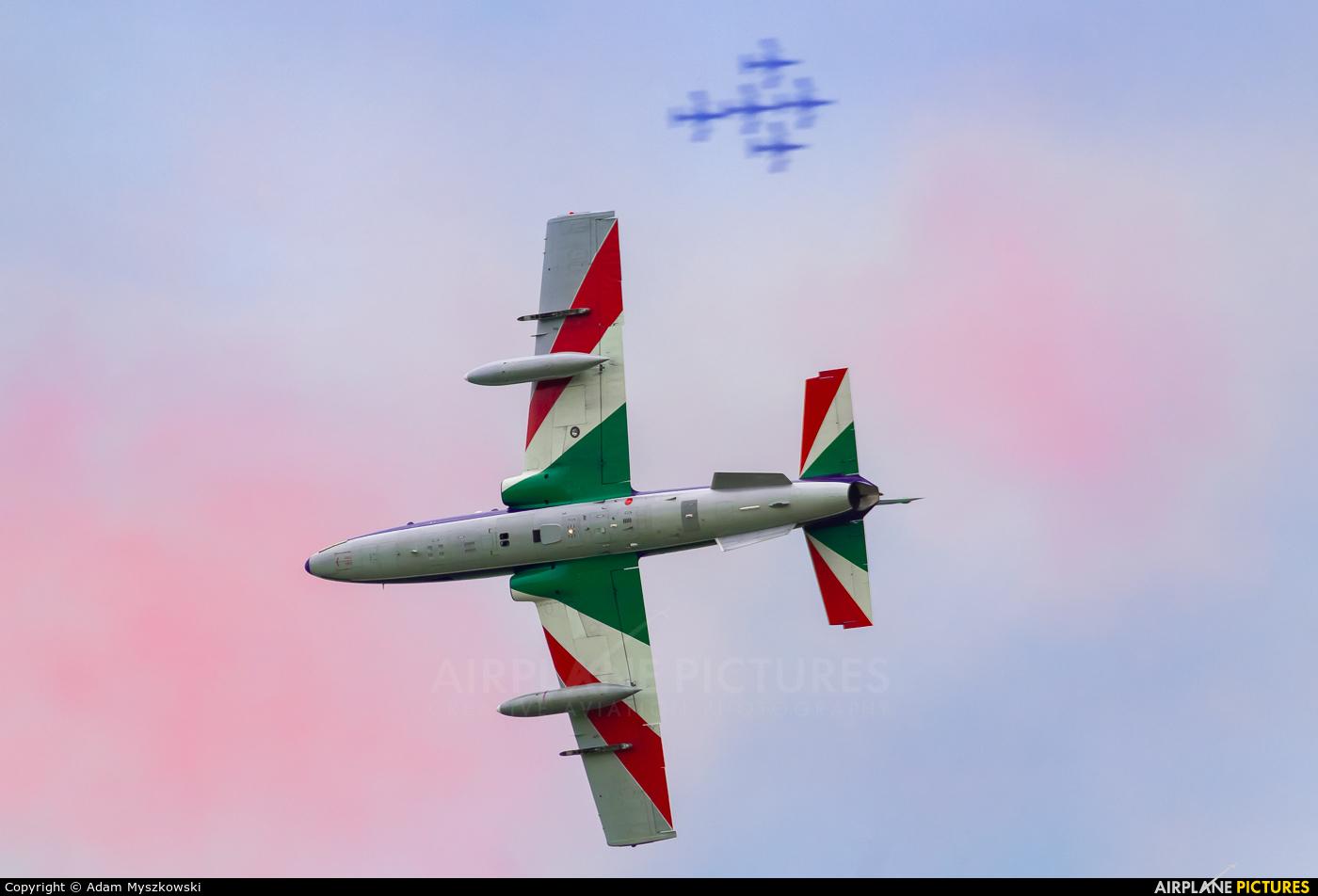 "Italy - Air Force ""Frecce Tricolori"" MM54510 aircraft at Radom - Sadków"