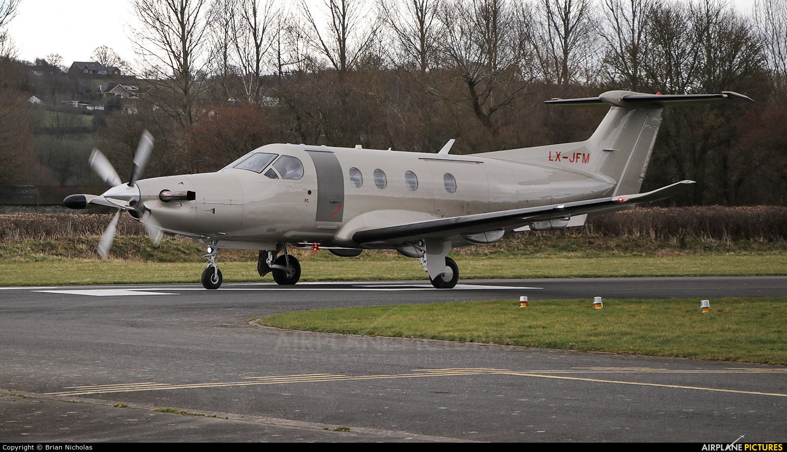 Jetfly Aviation LX-JFM aircraft at Welshpool