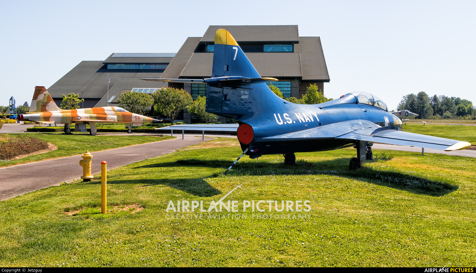 USA - Navy : Blue Angels 146417 aircraft at McMinnville - Evergreen Aviation & Space Museum