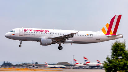 D-AIPU - Germanwings Airbus A320