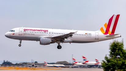 D-AIPU - Germanwings Airbus A320
