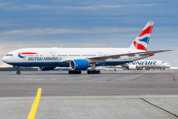G-YMMK - British Airways Boeing 777-200