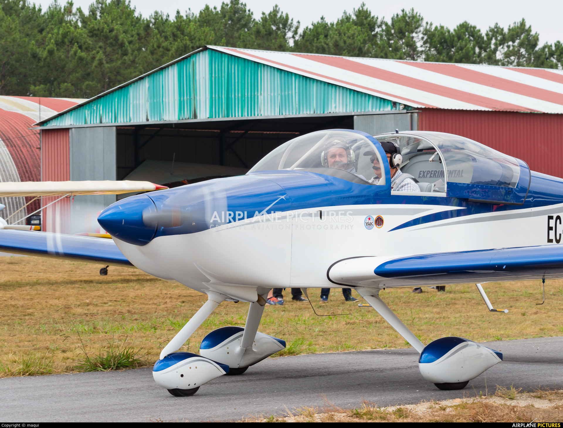 Private EC-XQA aircraft at Aerodrome Cerval