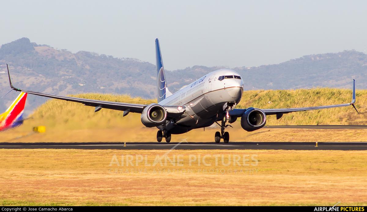 United Airlines N36247 aircraft at San Jose - Juan Santamaría Intl