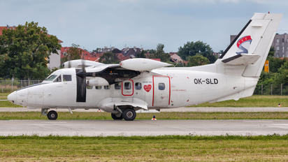 OK-SLD - Silver Air LET L-410UVP-E Turbolet
