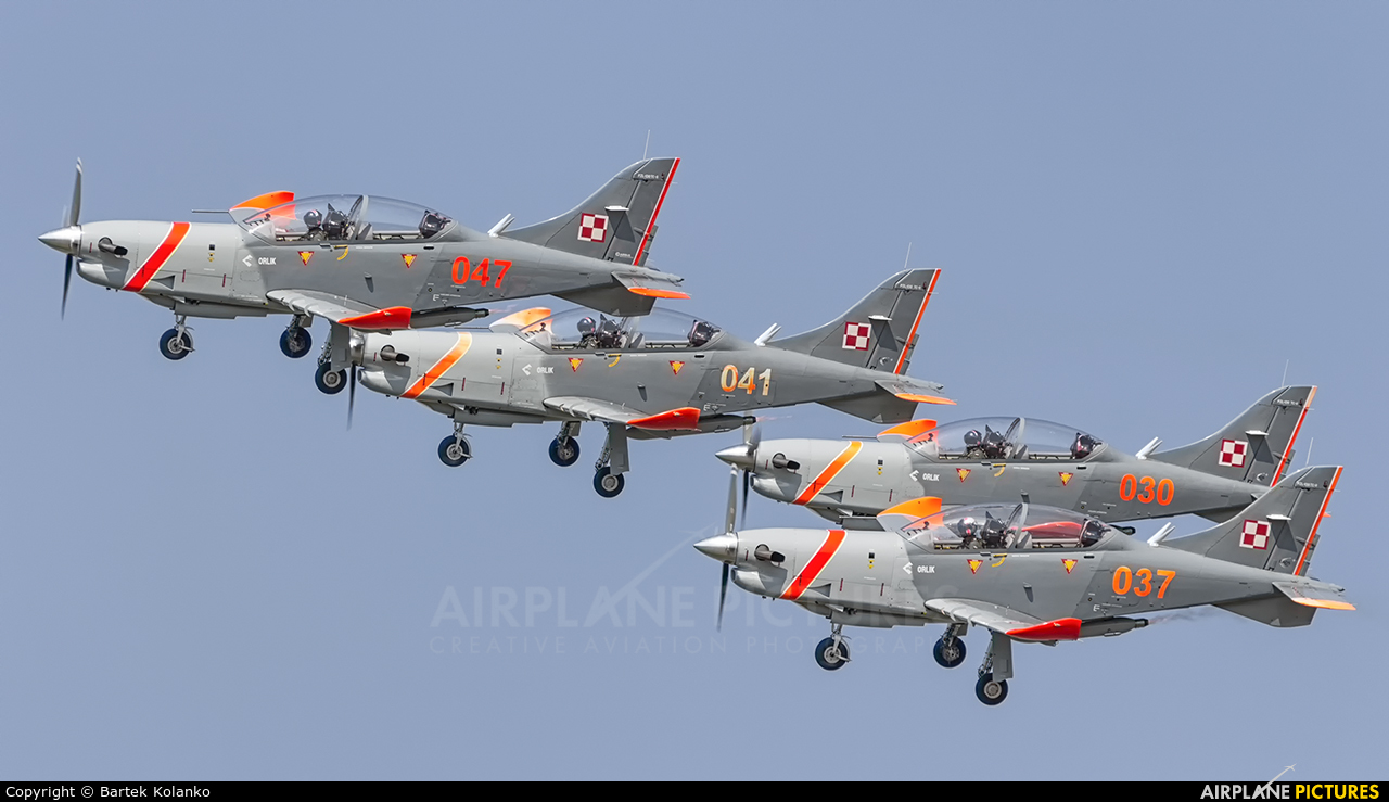 "Poland - Air Force ""Orlik Acrobatic Group"" 047 aircraft at Radom - Sadków"