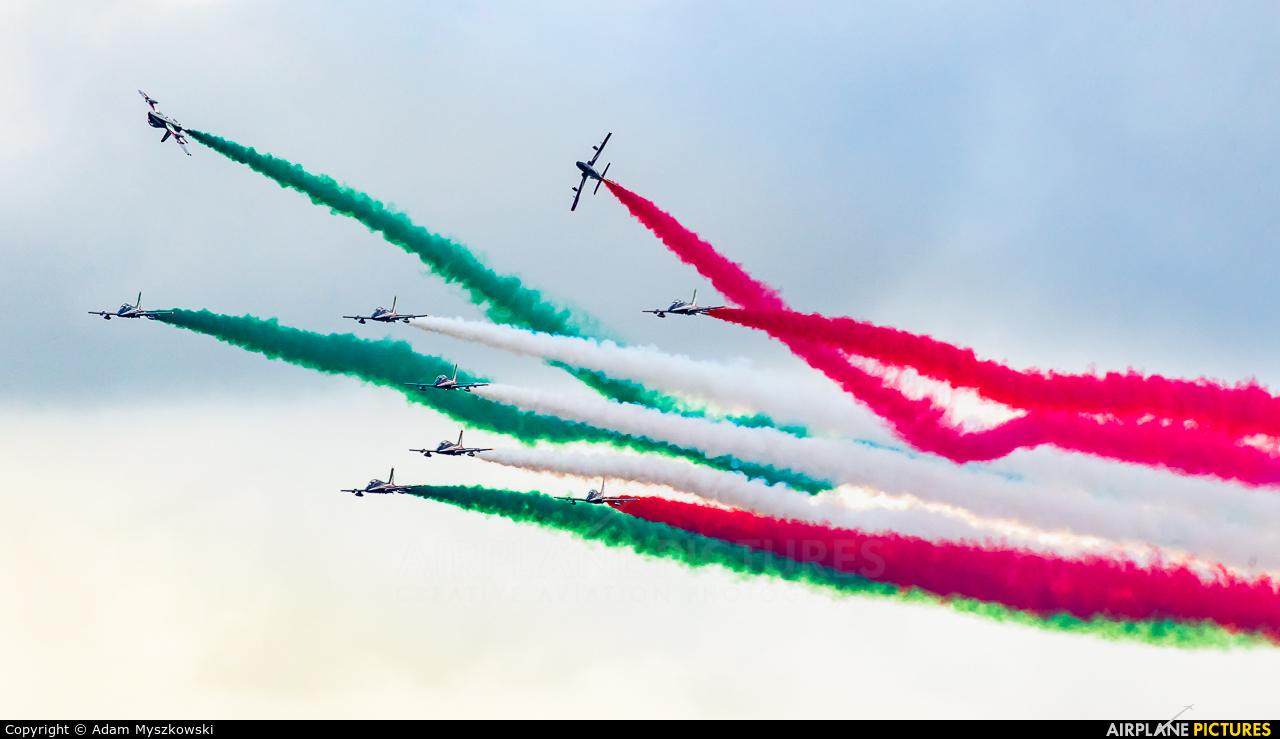 "Italy - Air Force ""Frecce Tricolori"" MM55558 aircraft at Radom - Sadków"