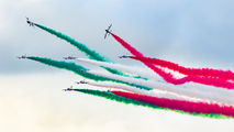 "MM55558 - Italy - Air Force ""Frecce Tricolori"" Aermacchi MB-339-A/PAN aircraft"