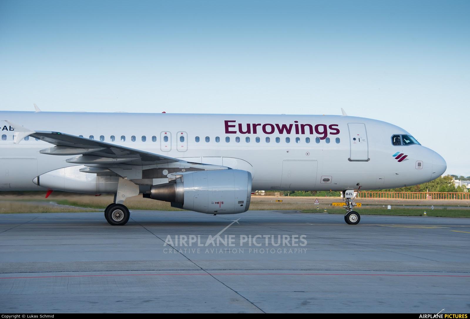 Eurowings D-ABZL aircraft at Zurich