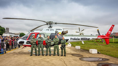 PR-SPK - Brazil - Police Aerospatiale AS350 Ecureuil / Squirrel