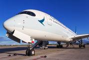 B-LRX - Cathay Pacific Airbus A350-900 aircraft