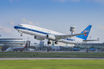 B-5587 - China Southern Airlines Boeing 737-800
