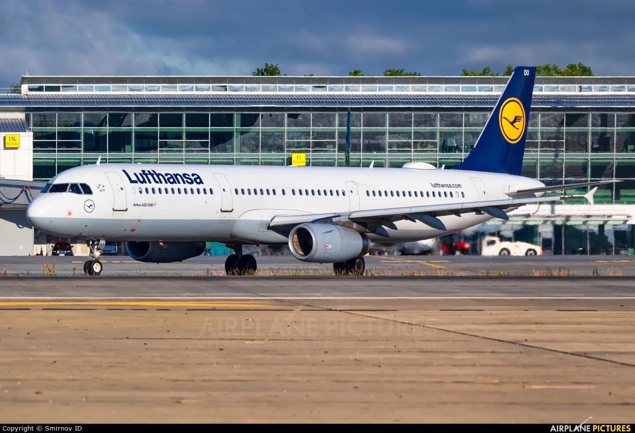 Lufthansa D-AIDO aircraft at Kiev - Borispol
