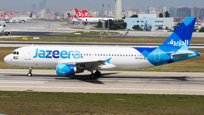 9K-CAP - Jazeera Airways Airbus A320