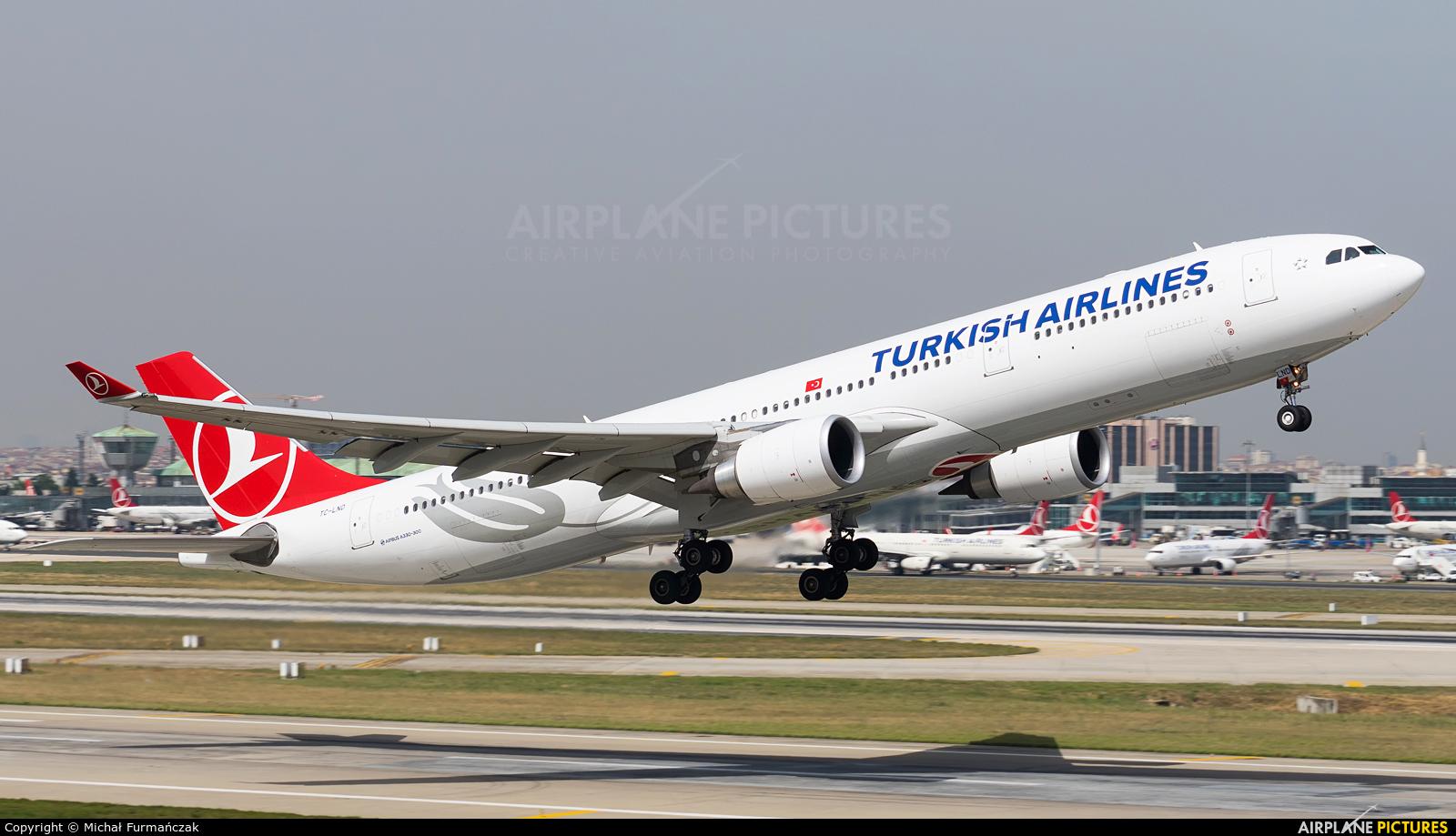Turkish Airlines TC-LND aircraft at Istanbul - Ataturk