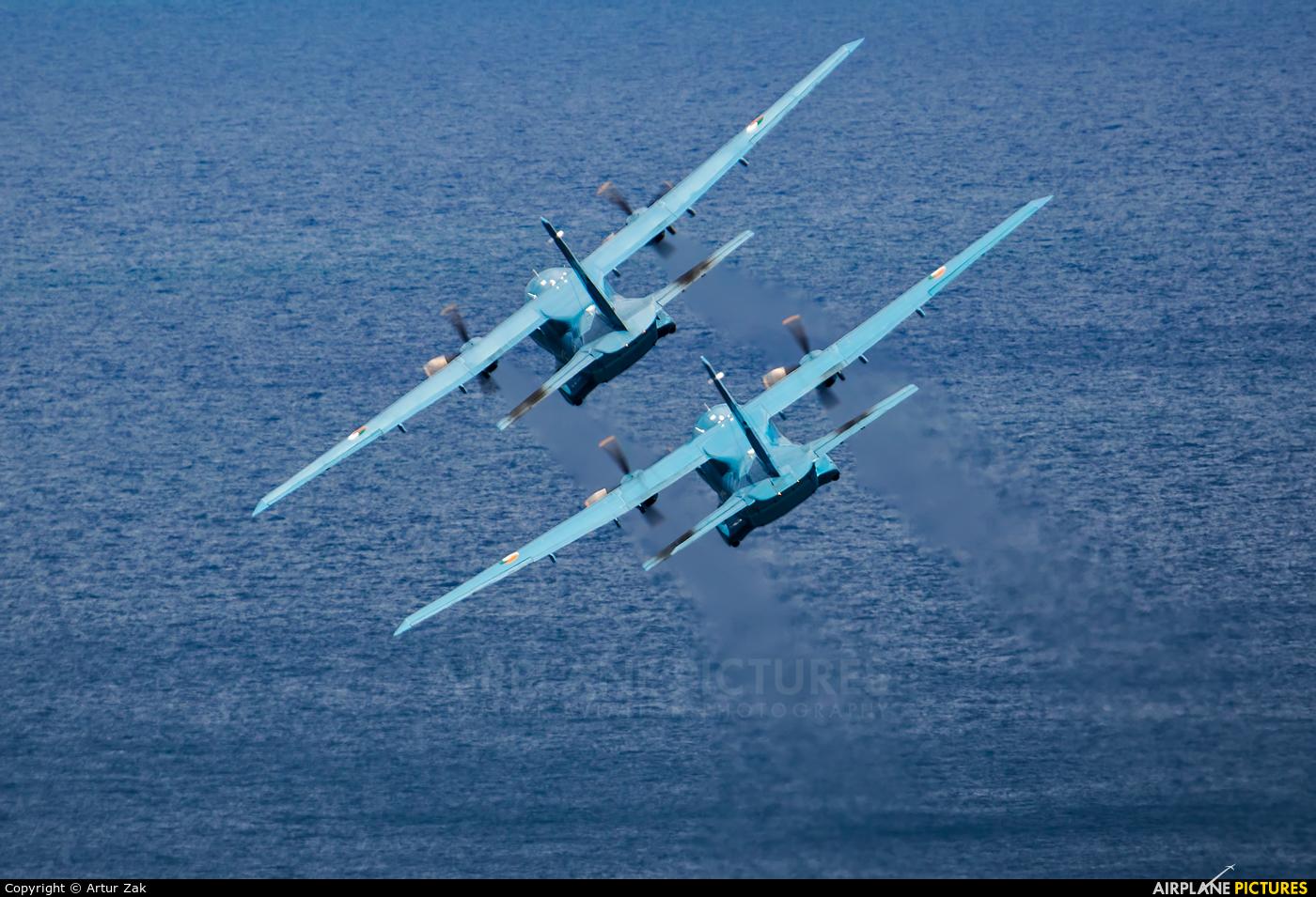 Ireland - Air Corps 253 aircraft at Bray - Off Airport