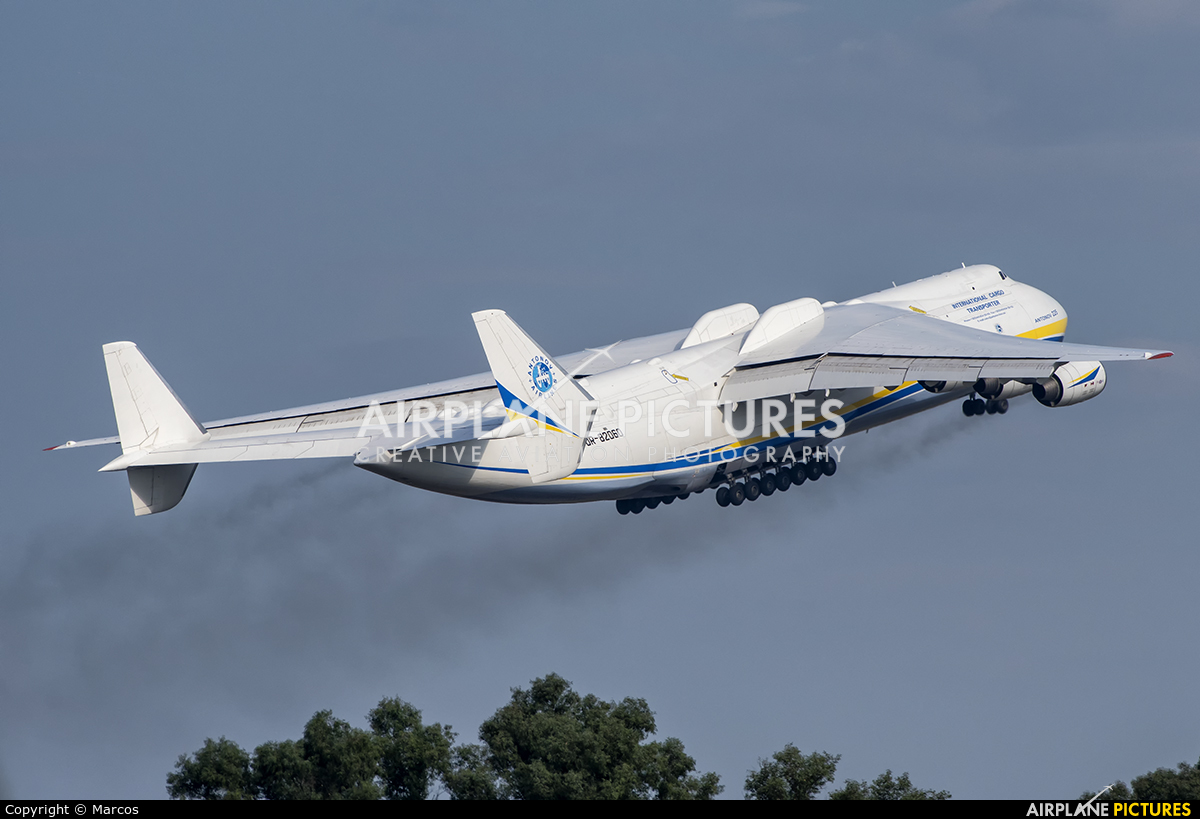 Antonov Airlines /  Design Bureau UR-82060 aircraft at Rome - Fiumicino
