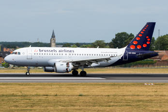 OO-SSX - Brussels Airlines Airbus A319