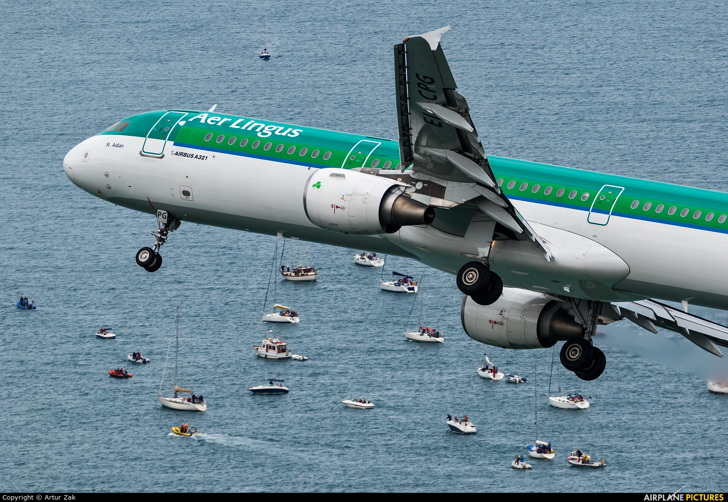 Aer Lingus EI-CPG aircraft at Bray - Off Airport