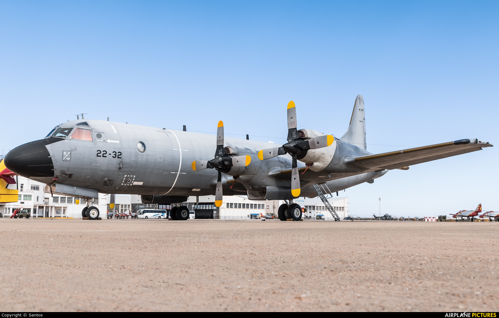 Spain - Air Force P.3M-09 aircraft at Murcia - San Javier