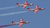 3H2011 - Poland - Air Force: White & Red Iskras PZL TS-11 Iskra aircraft