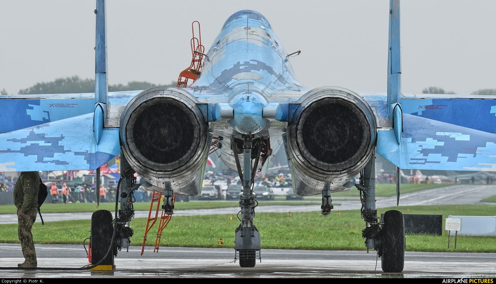 Ukraine - Air Force 71 aircraft at Radom - Sadków
