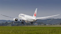 JA837J - JAL - Japan Airlines Boeing 787-8 Dreamliner aircraft