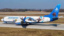 TC-SNN - SunExpress Boeing 737-800 aircraft
