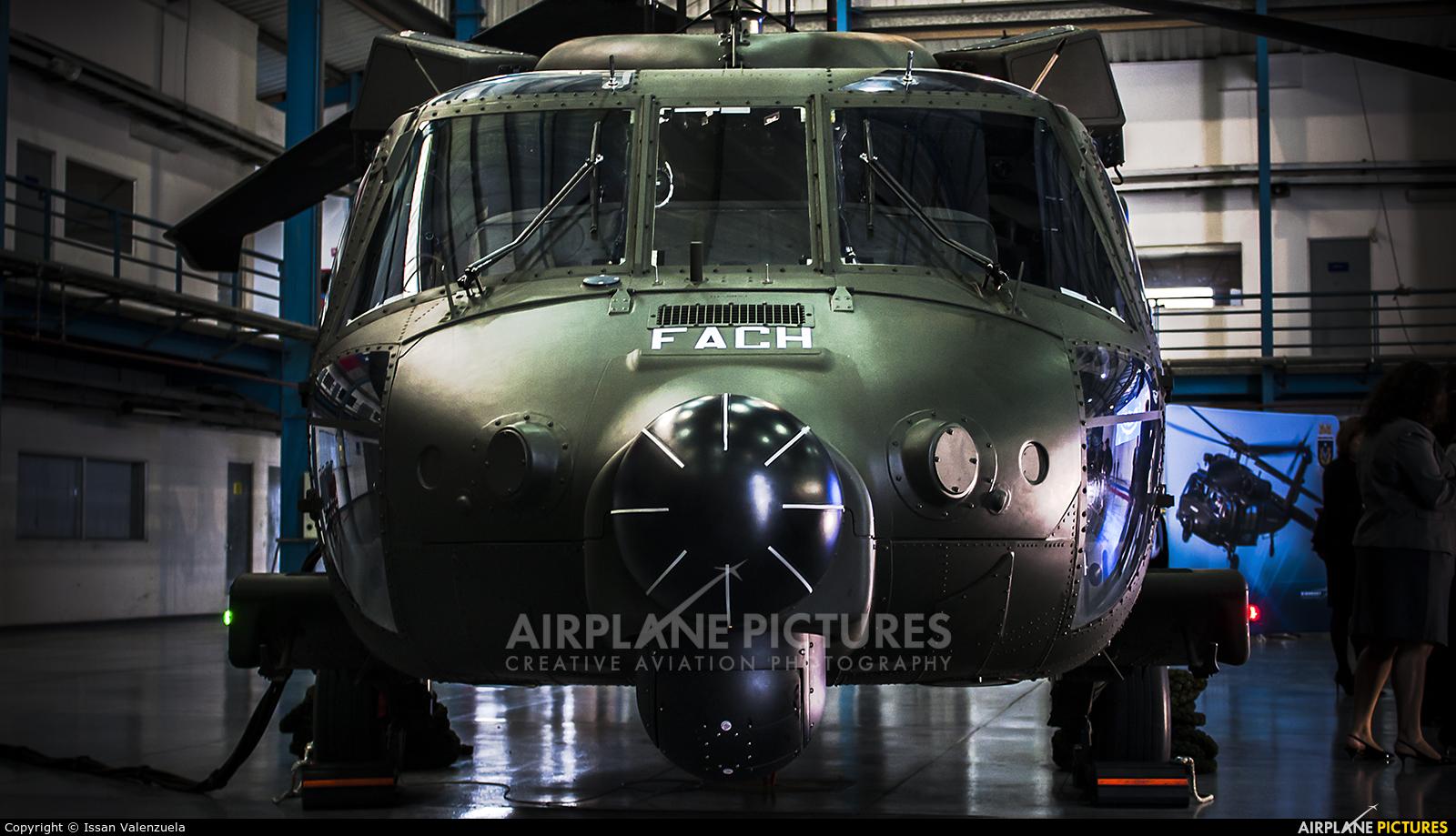 Chile - Air Force H-03 aircraft at Santiago de Chile - Arturo Merino Benítez Intl