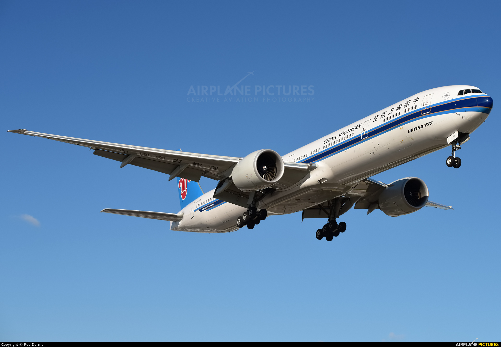 China Southern Airlines B-7183 aircraft at Toronto - Pearson Intl, ON