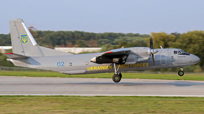 02 - Ukraine - Air Force Antonov An-26 (all models)