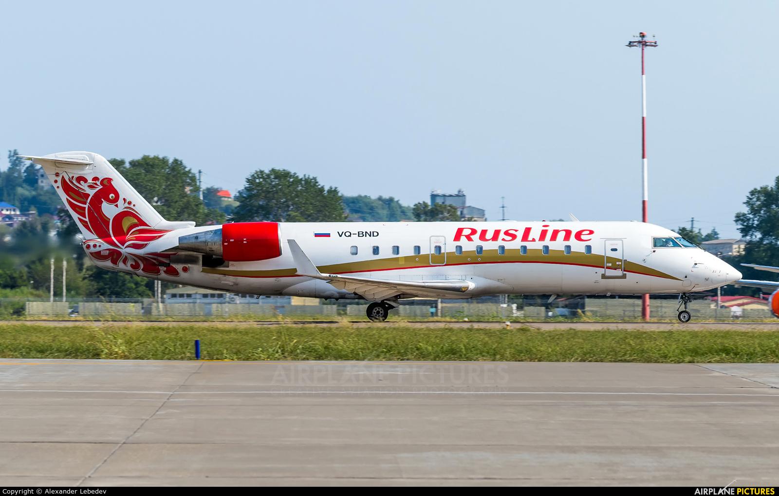 Rusline VQ-BND aircraft at Sochi Intl