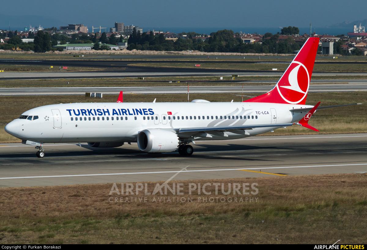 Turkish Airlines TC-LCA aircraft at Istanbul - Ataturk