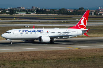 TC-LCA - Turkish Airlines Boeing 737-8 MAX